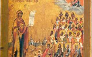 2 молитвы «Боголюбской» иконе Божией Матери