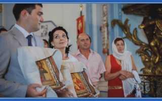 Какой иконе молиться для вступления в брак