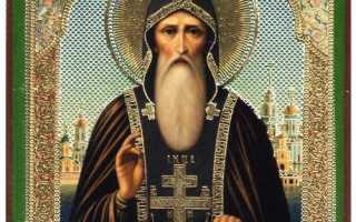 2 молитвы преподобному Нилу Столобенскому
