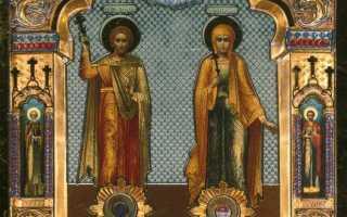 Акафист святым мученикам Адриану и Наталии: текст, для чего читают