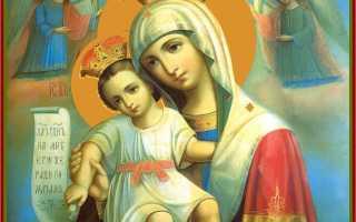 Икона достойно есть значение в чем помогает и молитва к ней