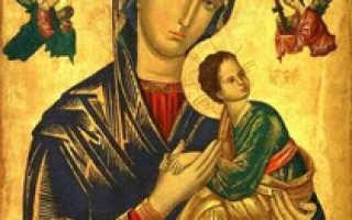 Чему молятся иконе неустанной помощи