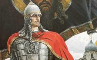 Александр Невский: житие святого, день памяти, молитва