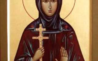 Евфросиния Колюпановская: житие святого, день памяти, молитва