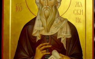 2 молитвы преподобному Иоанну Дамаскину