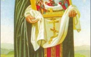 Феодосий Печерский: житие святого, день памяти, молитва