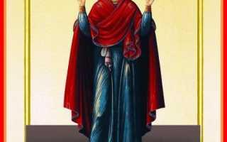 Икона и молитвы нерушимая стена значение в чем помогает