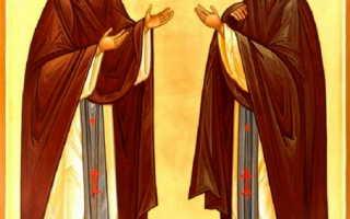 2 сильных молитвы Марии и Кириллу Радонежским