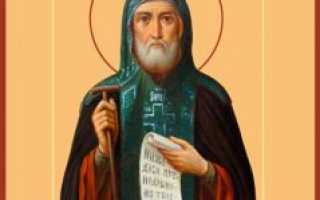 3 молитвы преподобному Иову Почаевскому