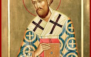 Акафист святителю Иоанну Златоусту: текст, для чего читают