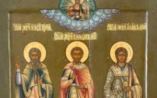 Акафист святым Гурию, Самону и Авиву: текст, для чего читают