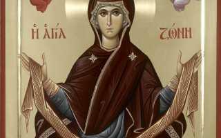 2 молитвы перед иконой «Пояс пресвятой богородицы»
