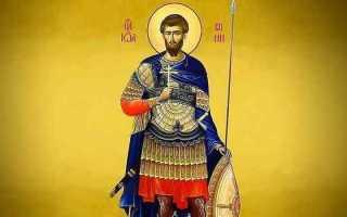 4 сильных молитвы Иоанну Воину