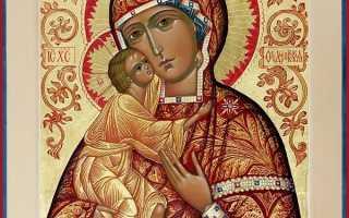 Акафист Пресвятой Богородице пред иконой «Феодоровская»: текст, для чего читают