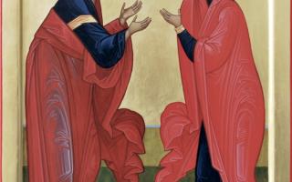 Акафист праведным Богоотцам Иоакиму и Анне: текст, для чего читают