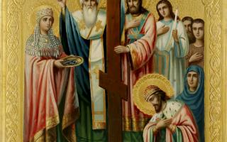 Акафист Воздвижению Креста Господня: текст, для чего читают