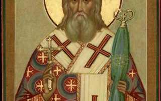 2 молитвы святителю Иннокентию, митрополиту Московскому