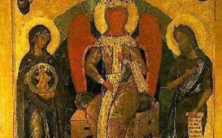 Кто молится перед иконой софии