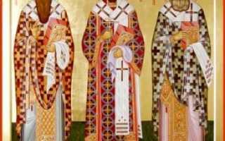 3 сильных молитвы святителю Григорию Богослову