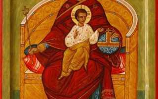 «Державная»: описание и значение иконы, история