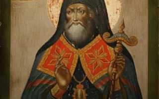 Митрофан Воронежский: житие святого, день памяти, молитва