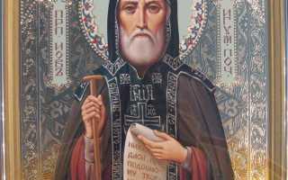 Иов Почаевский: житие святого, день памяти, молитва