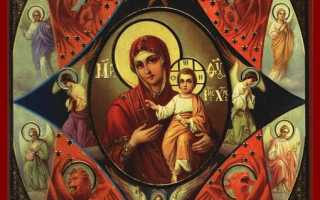 Акафист иконе Божией Матери «Неопалимая Купина»: текст, для чего читают