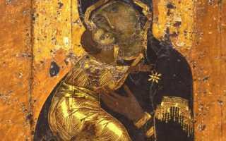 Акафист иконе Божией Матери «Владимирская»: текст, для чего читают