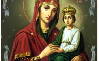 3 сильных молитвы иконе Богородице «Споручница грешных»