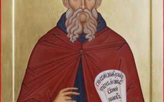 Савва Освященный: житие святого, день памяти, молитва