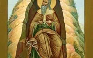 Илия: житие святого, день памяти, молитва