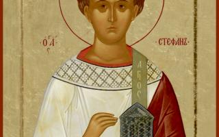 3 сильных молитвы святому Стефану Первомученику