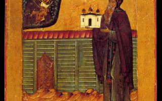 Антоний Римлянин: житие святого, день памяти, молитва