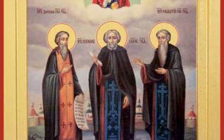 Зосима, Савватий и Герман: житие святых, день памяти, молитва