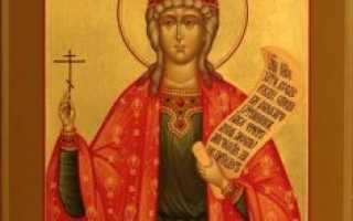 2 сильных молитвы великомученице Варваре Илиопольской
